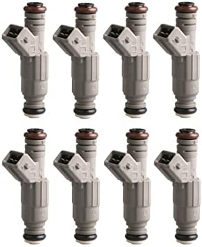 24LB Upgrade Set Of 6 OEM Fuel Injectors for Dodge Jeep Ford Mercury