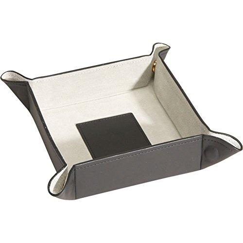 (Royce Leather Travel Valet Tray (Black))