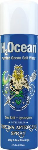 H2Ocean Piercing Aftercare Spray, 4 Fluid - Body Hot Jewelry