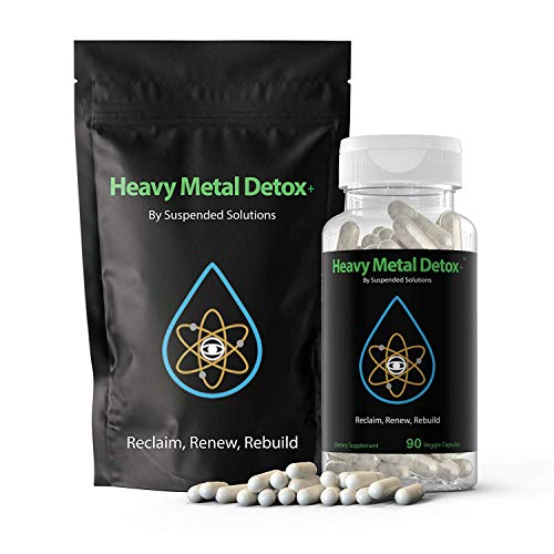 - Zeolite Clinoptilolite - Heavy Metal Detox+ - 90 Capsules - Responsibly Mined - All Natural Mineral Detox Removes Metals and Chemicals Safely and Effectively - Restores Gut Health and Boosts Immunity