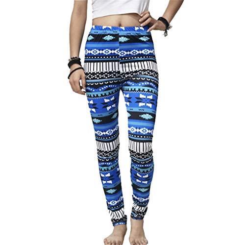 Blue Casual Calzamaglia Da YUCH Donna Bottomwear Con Aderente q7Hw0Sx