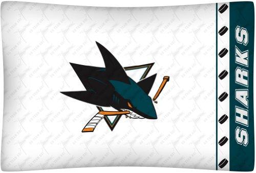 san jose sharks pillow case - 1