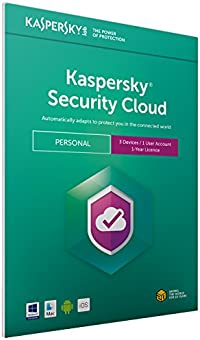 Kaspersky Security Cloud - Personal | 3 Devices | 1 Year | PC/Mac/iOS/Android | Download
