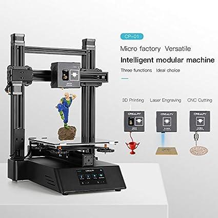 Impresora 3D 3 en 1 Herramienta Grabador modular 4.3 pulgadas de ...