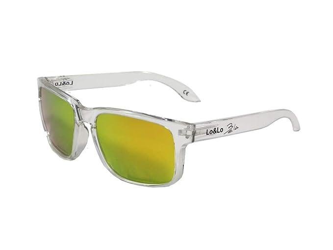 Gafas de sol polarizadas Padel deportivas y casuales Bela Transparent Orange: Amazon.es: Ropa y accesorios