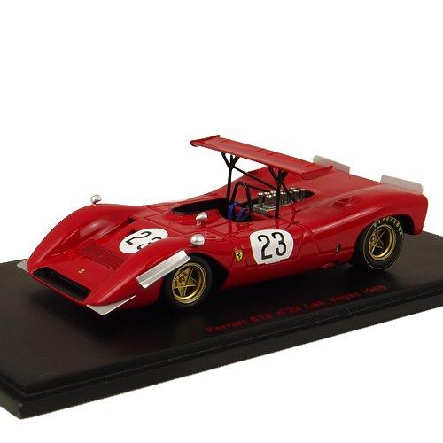 1/43 フェラーリ612 Can-Am 1968年ラスベガス ドライバー:C.アモン RL150