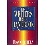 The Writer's Handbook, Rosa, Alfred and Eschholz, Paul A., 0205196551