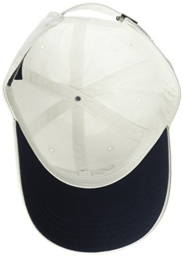 9c3efc73 Tommy Hilfiger Men's Dad Hat Tommy Flag Cap, Classic White, O/S ...