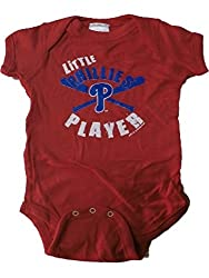 Philadelphia Phillies MLB Little Player Newborn Infant Creeper (12 Months)