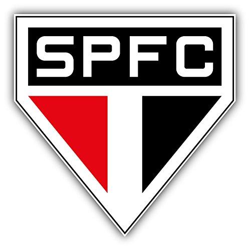 Price comparison product image Sao Paulo FC Brazil Soccer Football Art Decor Vinyl Sticker 5'' X 5''