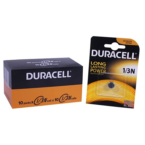 Price comparison product image AimPoint 10903 Duracell Lithium 1 / 3N 3V,  10 Pack