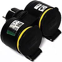 Kova dubbele stekkerdoos, 220 V stopcontact voor vochtige ruimtes, IP44, Schuko koppeling, 220 V stopcontact