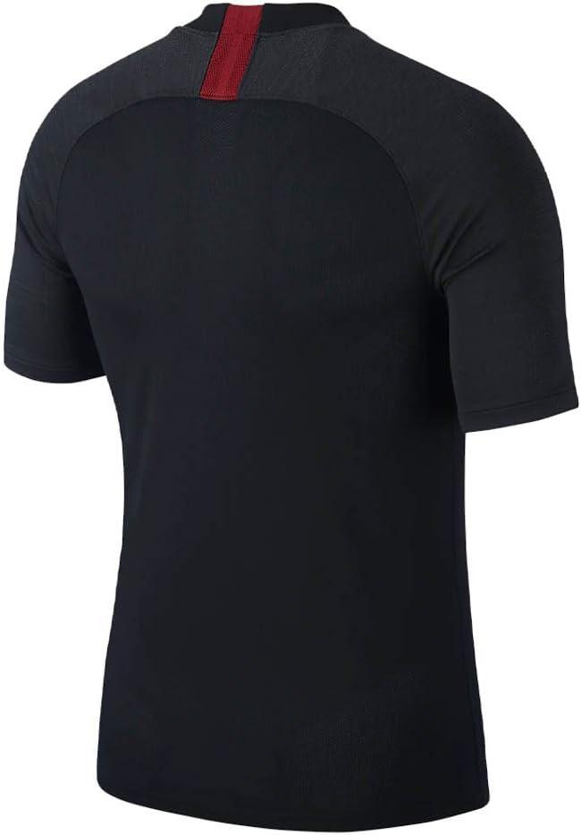 Nike Breathe A.S. Roma Strike Camiseta, Hombre, Black/Anthracite ...