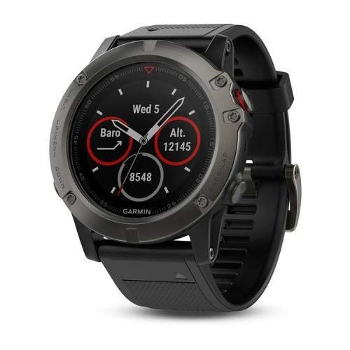 (Garmin Fenix 5X Multisport GPS Watch with Full-Color Map Guidance, 51mm Case Size, 1.2