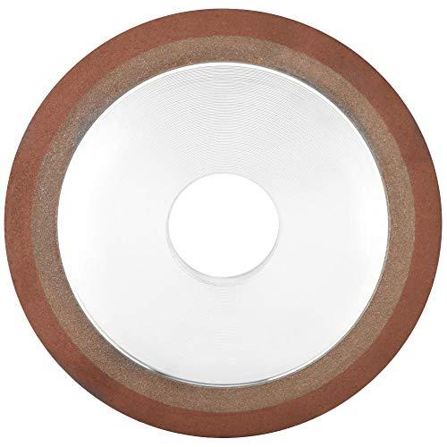Diamond Wheel, Resin Diamond Grinding Circular Wheel Abrasive Wheel for Alloy Blade Tungsten Steel 12510328mm