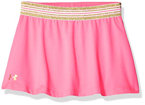 Under Armour Girls' Toddler Play Up Skort, Mojo Pink-s19, 4T