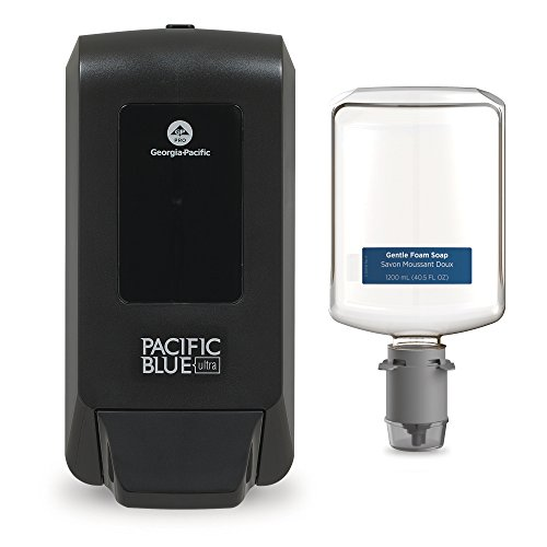 - Pacific Blue Ultra Manual Soap Dispenser Trial Kit by GP PRO (Georgia-Pacific), Black, Refill 5305714, [Contains 1 Dispenser (53057) and 1 Soap (43714)]