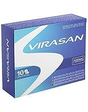 Virasan 200mg 10 tabletten | Onmiddellijk effect, Maximale duur, Zonder contra-indicaties, 100% Natuurlijk