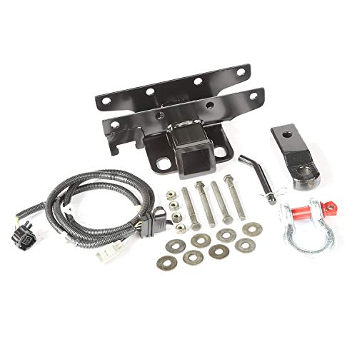 Rugged Ridge 11580.62 D-Shackle Receiver Hitch Kit