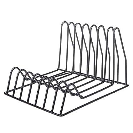 Desktop Book Storage Rack Iron Triangular Bookshelf Organizing Shelf Bookcase Desk Accessories & Organizer