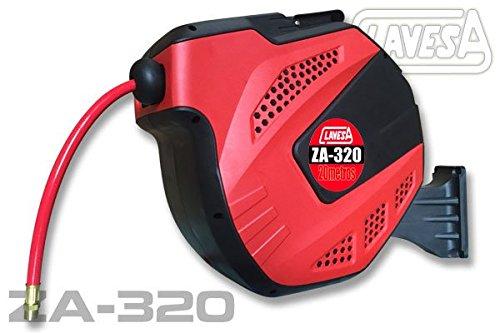 Soporte de manguera de aire comprimido auto enrrollable CLAVESA ZA320. 20m