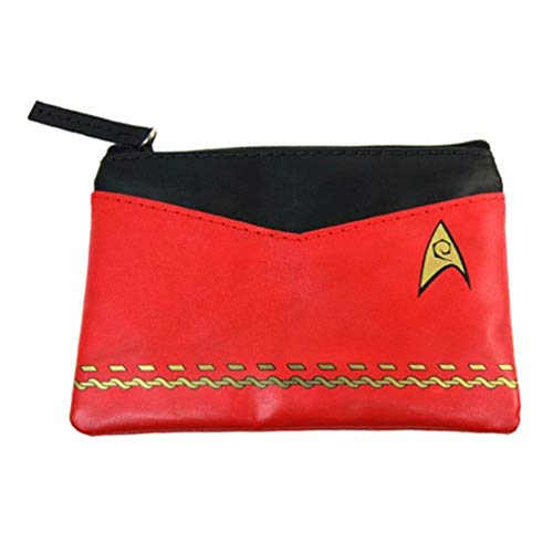 Star Trek Original Series Red Uniform Coin Purse ()