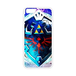 The Legend Of Zelda Skyward Sword Zelda Link Shield Hylian iPhone 6s 4.7 Inch Cell Phone Case White Customized Gift pxr006_5327679