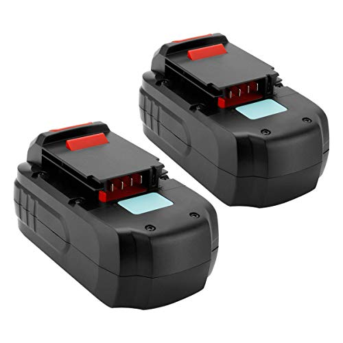 Creabest 2pack 18v Battery Replacement For Porter  Lasica