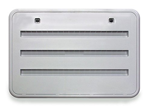 Side Panel Access (Norcold (621156Polar White) Refrigerator Vent)