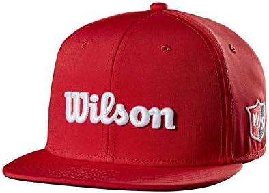 Wilson Staff Flat Brim Cap JR Gorra de Golf, para jóvenes, Visera ...