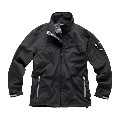Gill Crew Jacket, Graphite, Large by Gill