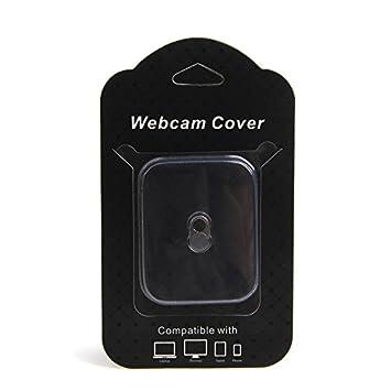 Webcam Cover Cámara Protectora de privacidad para ordenador portátil, PC, Tablet, Smartphone Teléfono Móvil, Espionaje - Acero inoxidable magnético: ...