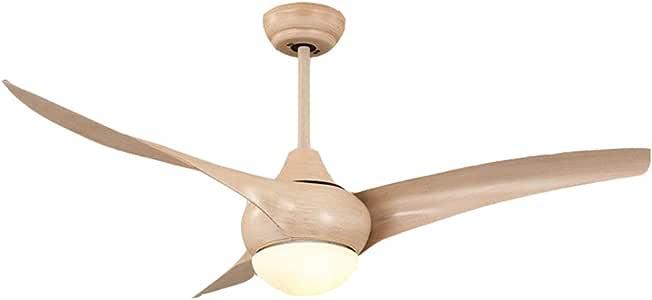 Ventilador de Techo - con luz 52-F3021-NW Modelo/Bajo Consumo de energía 12W Diámetro 52 Pulgadas, Ventilador de ...