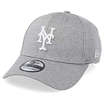 A NEW ERA Gorras York Mets 39Thirty Shadow Tech Gray/White Flexfit ...