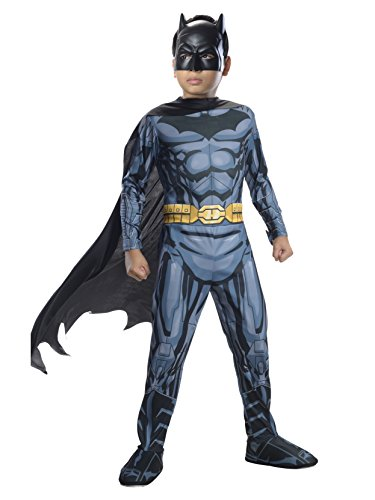 Rubies DC Super Heroes Child Batman Costume, Medium (8-10) ()