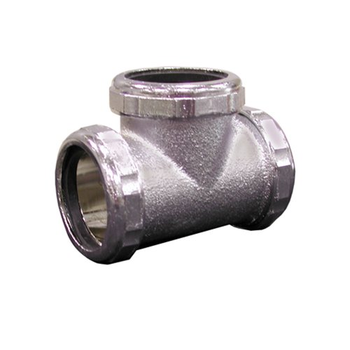 (PlumBest C74105R2 1-1/2-Inch 3-Way Slip Joint Tee,)