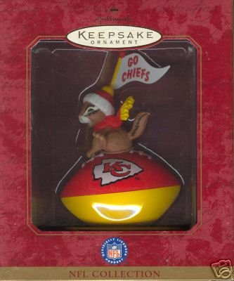 Keepsake Ornament NFL KC - Ornaments Nfl