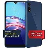 Moto E   Unlocked   Made for US by Motorola   2/32GB   13MP Camera   2020   Blue, XT2052-1, 2/32 GB   Moto E   13MP Camera   Blue   US