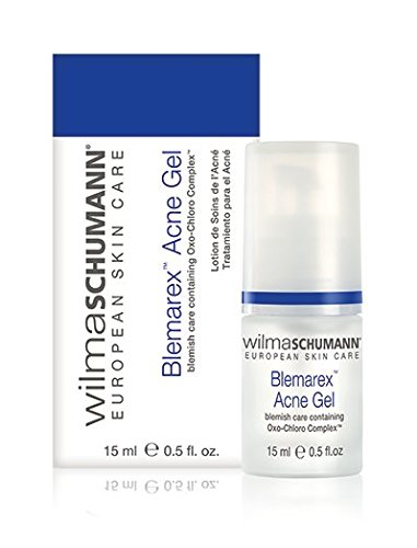 (WILMA SCHUMANN Blemarex Acne Gel (0.5 Ounce / 15 Milliliter) - Reduce The Appearance of Blemishes and Pimples on Acne Prone Skin)