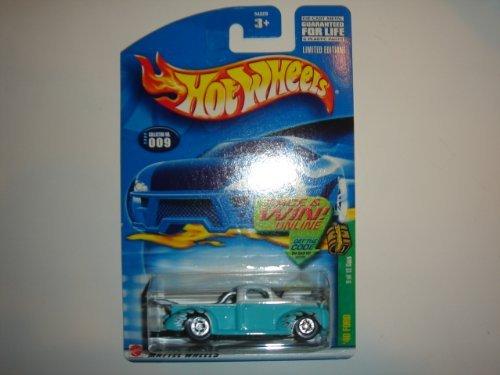 40 Ford Truck - Hot Wheels 2002 Treasure Hunt '40 Ford Truck Light Blue #9 of 12
