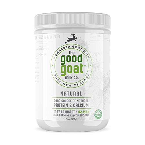 New Zealand Full Cream Goat Milk Powder (Natural) – 14oz