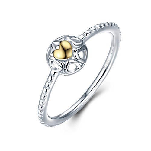 Dome Heart Ring - 2