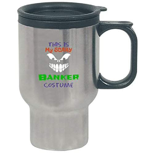 This Is My Scary Banker Halloween Costume - Travel Mug -