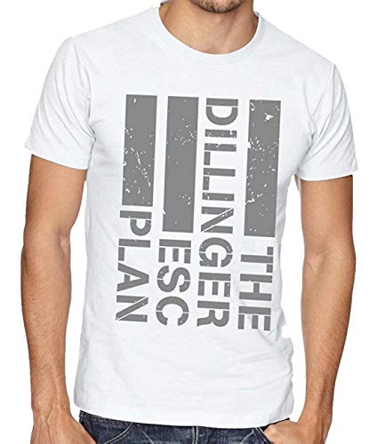 MiMooc The Dillinger Escape Plan TDEP Esc Band Logo Men's T-Shirt White