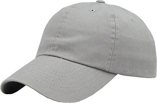 Grey Baseball Cap - 1