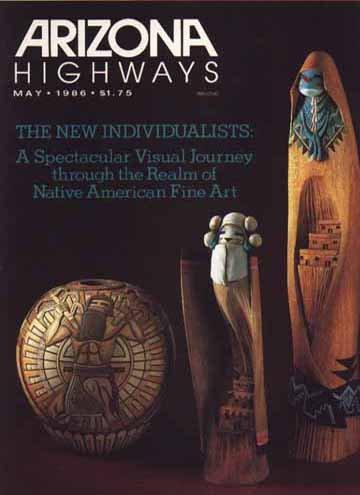 1986 Arizona Highways Magazine, Jan thru Nov Issues Bound (11) Geronimo Issue +