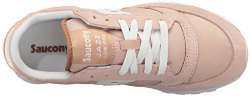 bunt 231 Damen White Jazz Saucony Pro Tan Beige Trainer Einheitsgröße Low Cross YnPwB