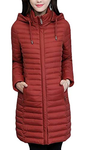 Padded Coats Lightweigth Slim 1 Hoodie H Warm Parkas amp;E Puffer Women's Cotton Vogue xqpxE0wPAK