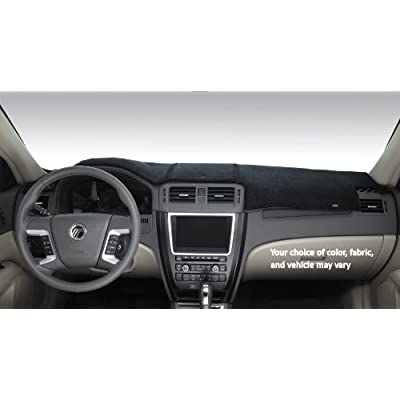DashMat SuedeMat Dashboard Cover Chevrolet and GMC (Faux-Suede, Black) - 81718-00-25: Automotive