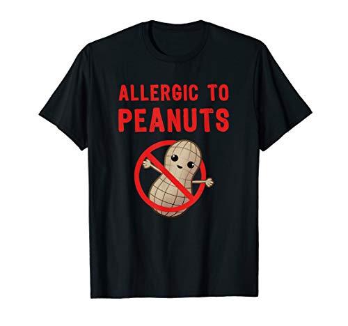 Peanut Allergy Shirt Allergic To Peanuts - Allergic Peanuts To